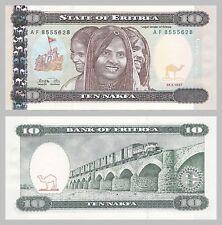 Eritrea 10 Nakfa 1997 p3 unz.