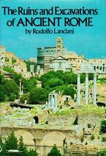 Ruins Excavations Ancient Rome Palatine Hill Sacra Via Capitolium Circus Maximus