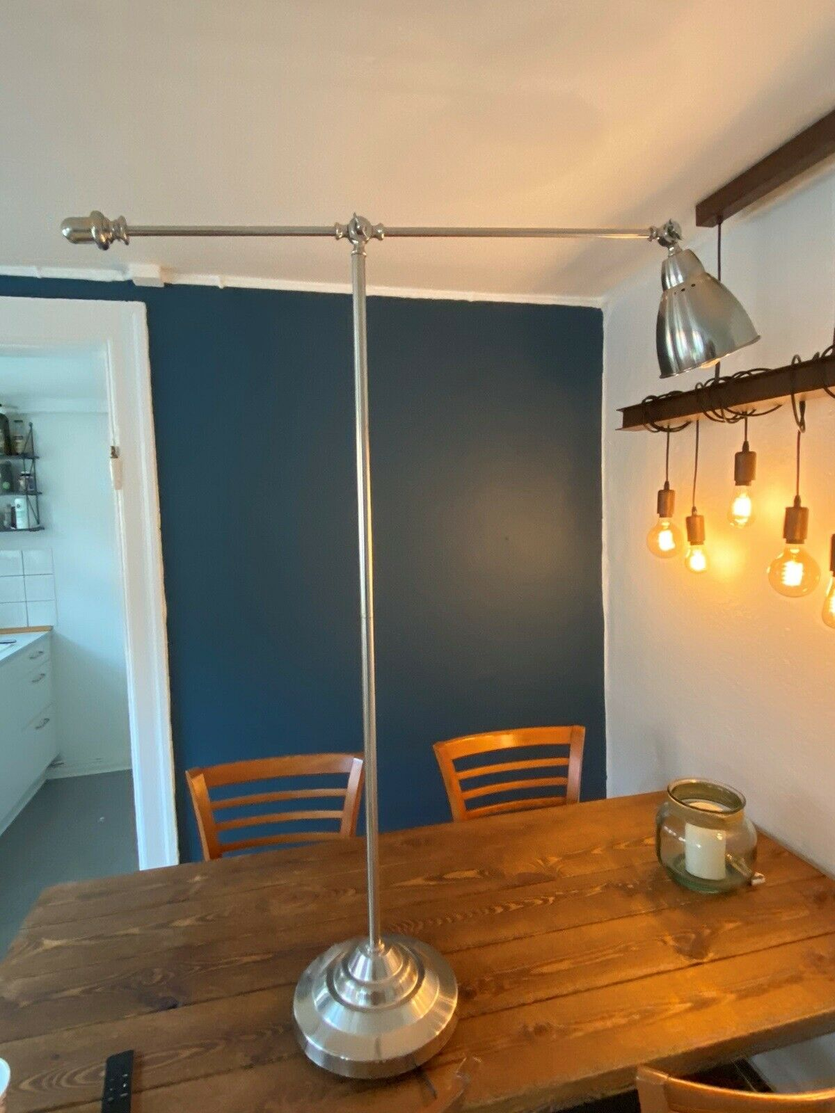 Lampe med bord, IKEA – dba.dk – Køb og Salg af Nyt og Brugt