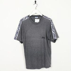 Vintage-90s-ASICS-Tape-Arm-Logo-T-Shirt-Tee-Grey-XL