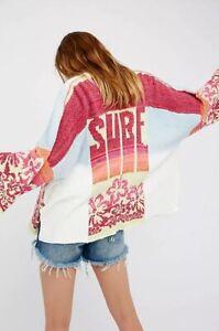 NEW-Free-People-Surk-Kimono-Sweater-Size-XS-S-XS-Small-Cardigan