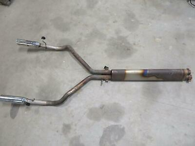 "Plymouth Prowler 18/"" Chambered muffler exhaust w// X-Pipe"