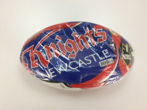 Newcastle Knights Steeden Rugby m Ball NRL Australia 2009 NEW Sealed