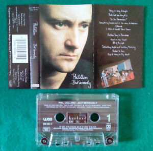 MC-Musicassetta-Phil-Collins-But-Seriously-1989-POP-ROCK-EUROPE-no-lp-cd