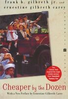 Cheaper By The Dozen (perennial Classics) By Frank B. Gilbreth, (paperback), Har on sale