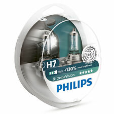PHILIPS Xtreme Vision +130% h7 HEADLIGHT Bulbs Twin Pack 12972xv+s2 x-treme