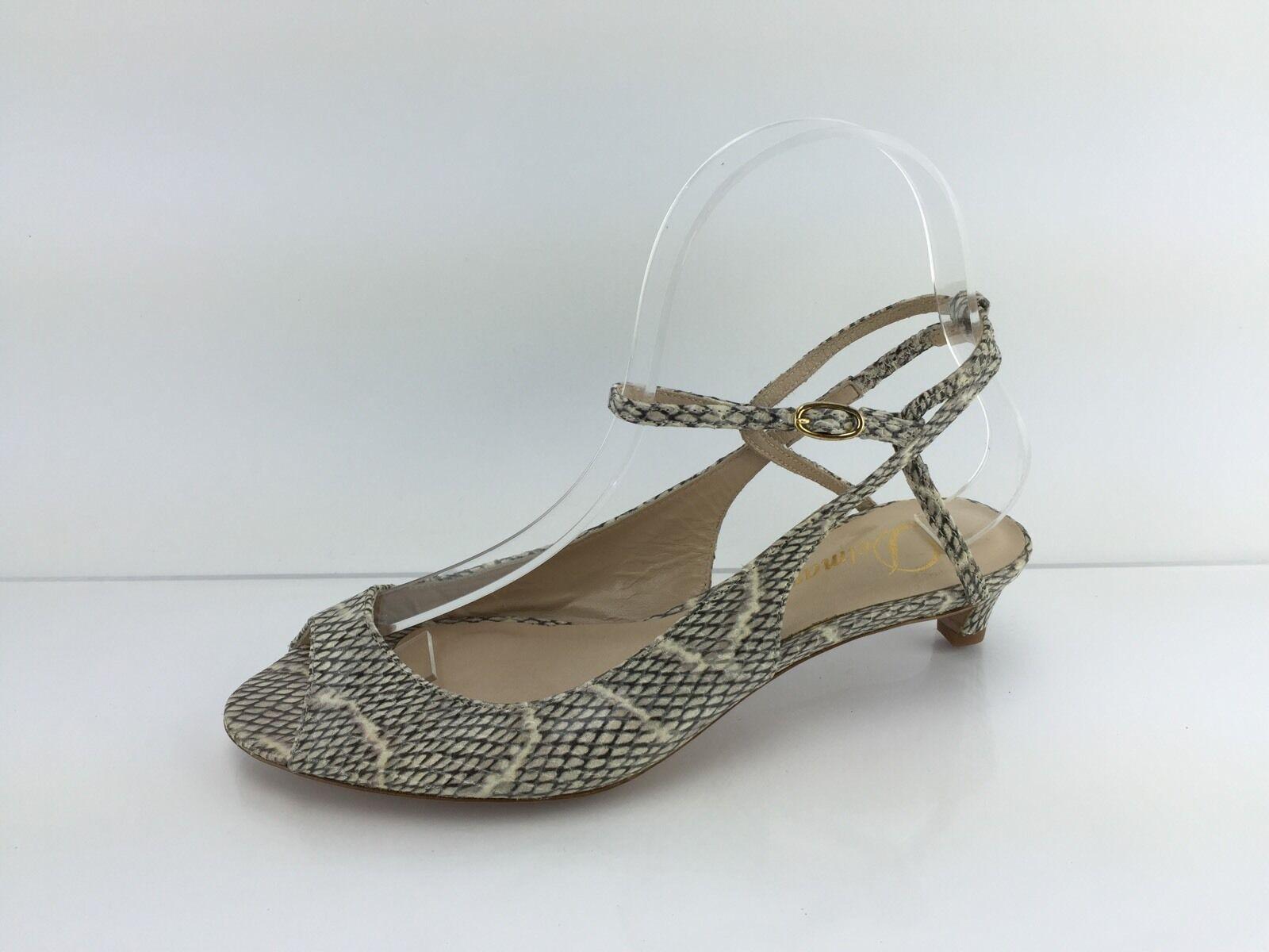 Delman Mujer Marfil Multi Color Sandalias De Cuero 6 6 6  100% precio garantizado