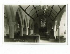 CORNISH POST CARD REAL PHOTO BY HAWKE OF HELSTON ST ANTHONY CHURCH