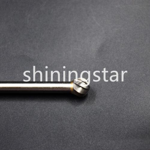 1Pc Dental 150mm Long Tungsten Carbide  Aluminum Cut Rotary Burr Burs D10 6x10mm