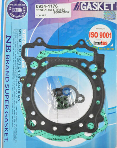 Top End Rebuild Head Gasket Kit Suzuki LTR450 LTR 450 Quadracer 2006-2009