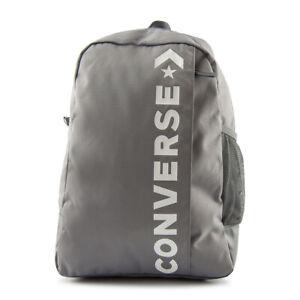 Detalles de Converse Speed 2 Mochila Unisex Star Chevron Gris 10008286 a03