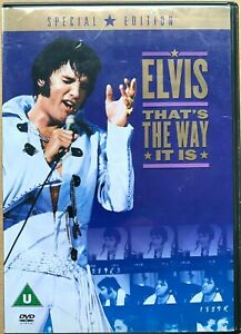 That-039-s-The-Way-It-Is-DVD-1970-Elvis-Presley-Rock-Concert-Film-Film-Classique