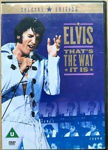 That-039-s-The-Way-It-Is-DVD-1970-Elvis-Presley-Rock-Concerto-Film-Classico