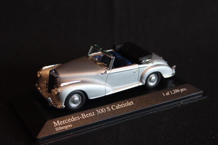 Minichamps Mercedes-Benz 300 S Cabriolet 1954 1 43 platagris (JS)