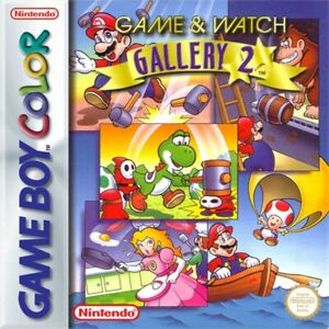 Nintendo-Gameboy-Color-juego-game-amp-Watch-Gallery-2-modulo