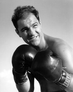 Heavyweight-Champion-ROCKY-MARCIANO-Glossy-8x10-Photo-Boxer-Print-Pose-Poster
