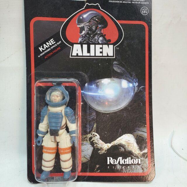 "ALIEN KANE Nostromo Spacesuit Action Figure ReAction Super7 Retro Funko 3.75"""