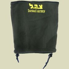 IDF battlefield Fleece Neck Warmer - Israel Army Olive Green- One Size