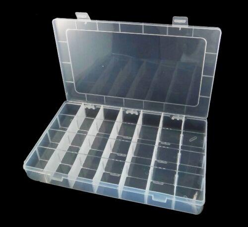 Perlenbox 5xl grande boite 28 compartiments Fournitures Sortierkasten doses b31