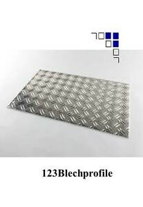 Alu-Riffelblech1-5-2-Aluminium-Duett-Warzenblech-Lange-1m-1-25m-1-5m-Traenenblech