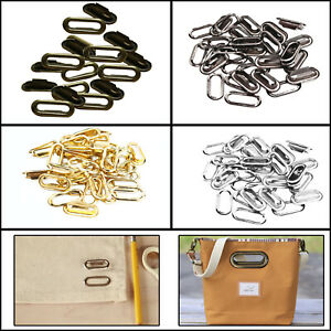 50-100pcs-Brass-Oval-Eyelets-Washers-10mm-40mm-Grommets-Handbags-Canvas-Crafts