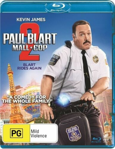 1 of 1 - Paul Blart - Mall Cop 2 (Blu-ray) Action, Comedy, Crime, Family, Kevin James