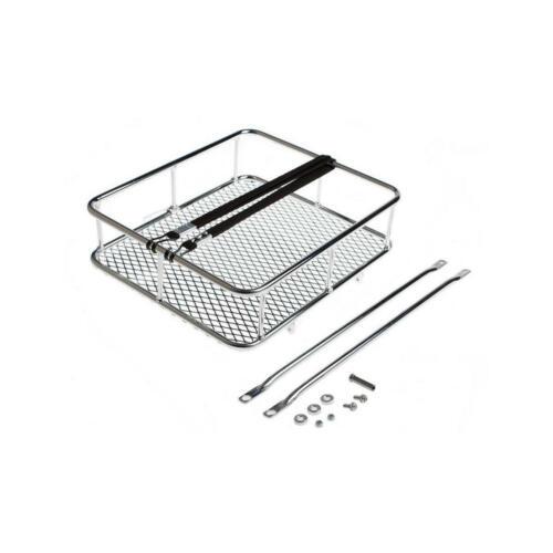 cestino anteriore take away tray silver cromato BLB portapacchi bici