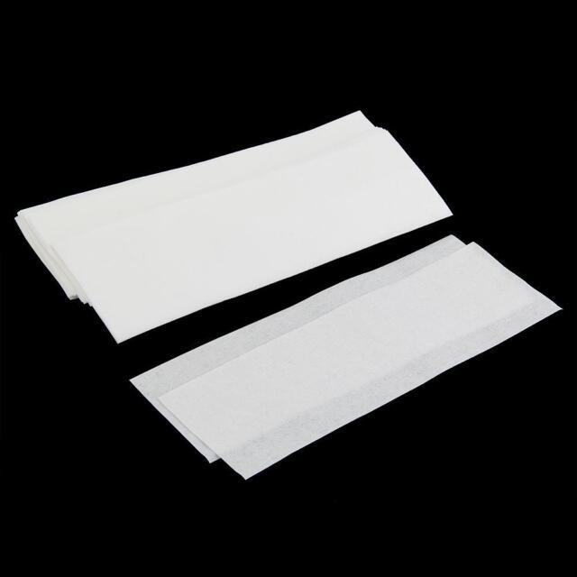 100pcs Hair Removal Remove Depilatory Wax Strip Nonwoven Epilator Paper Waxing