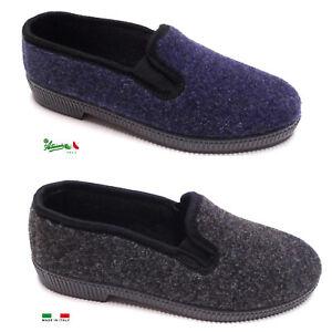 negozio di sconto piuttosto economico vari colori Pantofole ciabatte scarpa uomo MadeInItaly comode calde invernali ...