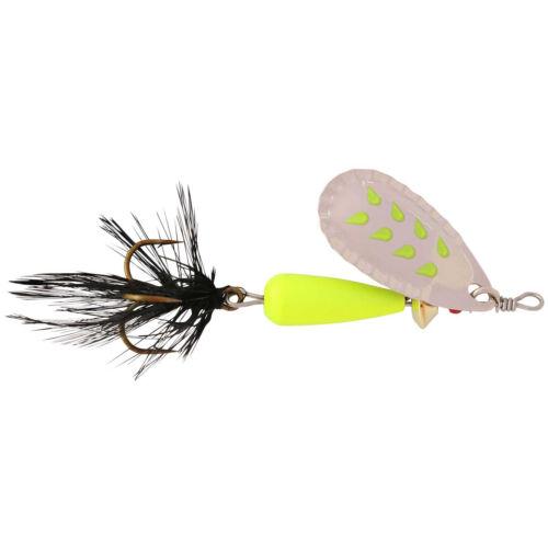 8 colori//2 pesi ABU Garcia farten FLUO Spinners trota pesce persico Salmone medio