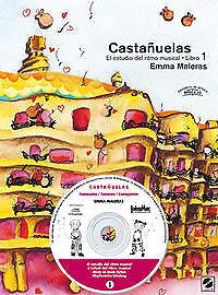 Castañuelas, el estudio ritmo musical. NUEVO. Envío URGENTE. MUSICA (IMOSVER)