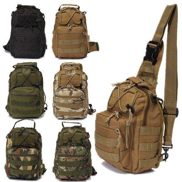 Outdoor Sport Canvas Sling Messenger Shoulder Bag Chest Pack Sports Backpack