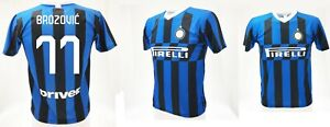 best service 29bae 13e0f Details about Shirt Brozovic Inter 2020 Official Product Jersey Official  2019 Marcelo 77