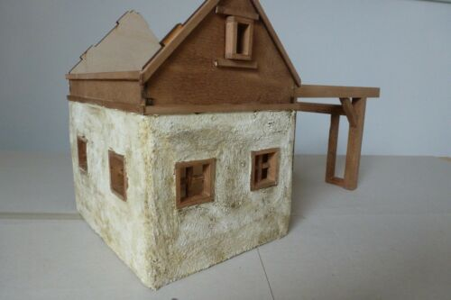 Crèches kit//Crèche Almhütte//Kit pour Crèche-même construire//sans déco