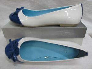 EFFE-amp-EFFE-scarpa-ballerina-donna-art-1005-col-BIANCO-AZZURRO-n-38-estate-2012