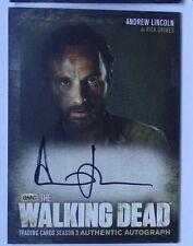 The Walking Dead season 3  autograph card