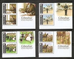 Gibraltar-Centenary-Of-The-Accession-To-The-Throne-Of-King-George-V-MNH