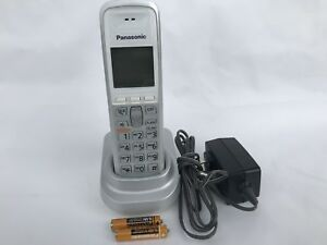 1 panasonic kx tga642s dect 6 0 cordless phone kx tg6411 kx tg6421 rh ebay com  kx-tg6421e user manual