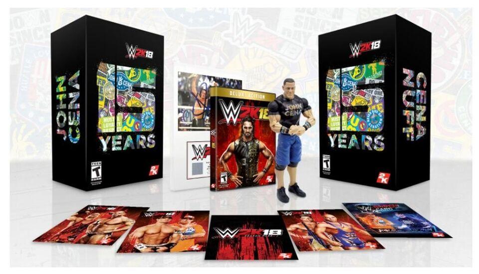 Playstation 4, WWE 2K18 Spil