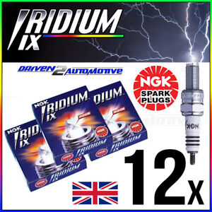 3x NGK SPARK PLUGS Part Number BPR6EIX-11 Stock No 3903 Iridium IX New Genuine