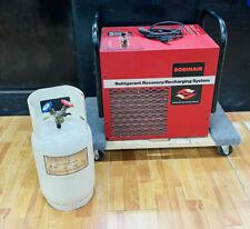 Robinair 17600a Refrigerant Recovery Amp Recharging Station W Tank Guaranteed