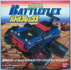 Bandai-Toy-Machine-Robo-Battle-Flex-Battery-operated-1986-Unopened-Unused-Japan