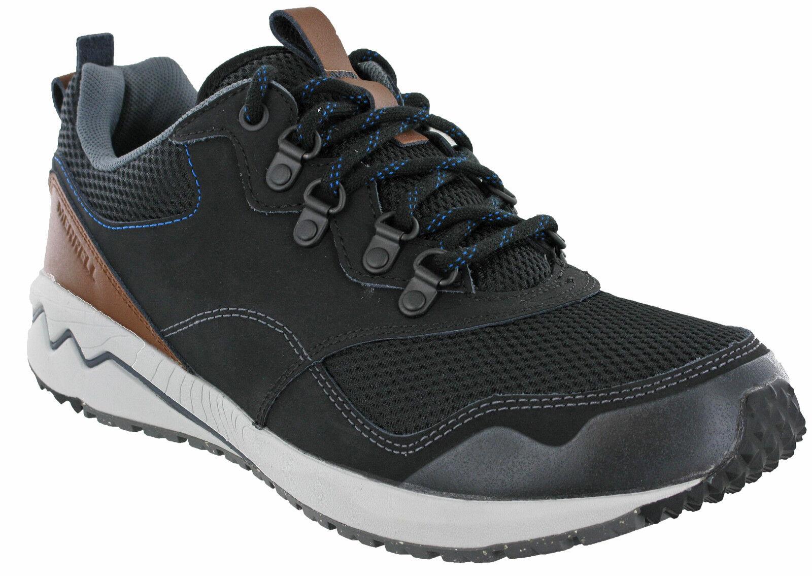 Merrell Stowe Trainers Leder Mesh Walking   Walking Herren Lace Up Casual Turnschuhe Schuhes 3cd699