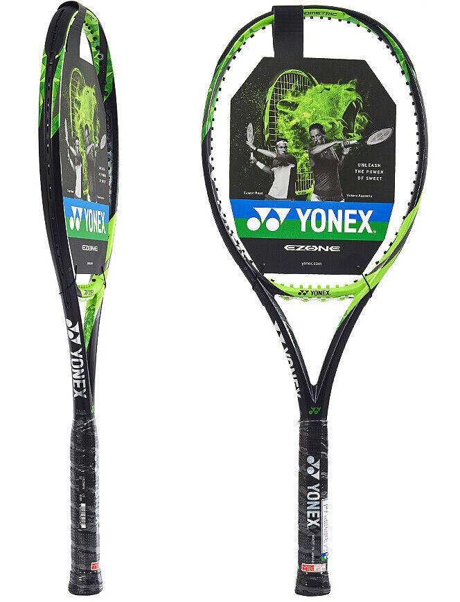 Yonex Ezone 2017 98  Raqueta De Tenis Raqueta Cuerda verde Lima 98sq 305g G2 16x19  gran selección y entrega rápida