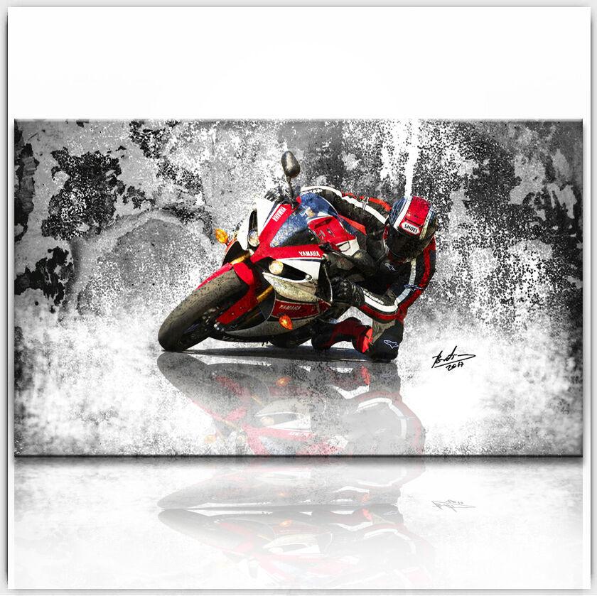 Yamaha r1 Images Toile Sport automobile moto art & auto art moto la fresque XXL 229 A 60a785