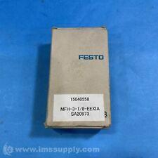 Festo Mfh 3 18 Eexia Solenoid Valve 20 120 Psi 5377