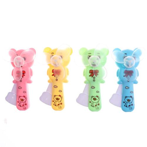 1PC nette bewegliche Mini-Bär Fan Handpresse Kühlventilator Kinder SpielzeugORG