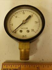 Vintage Marshalltown Williams Vacuum Gauge 30 Steampunk