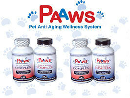 PAAWS™ Dog Vitamins 30 Day Supply 7 Yrs, 3560 lbs. Multivitamin