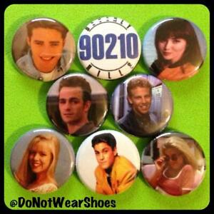 Beverly-Hills-90210-1in-buttons-pinbacks-Luke-Perry-Dylan-Mckay